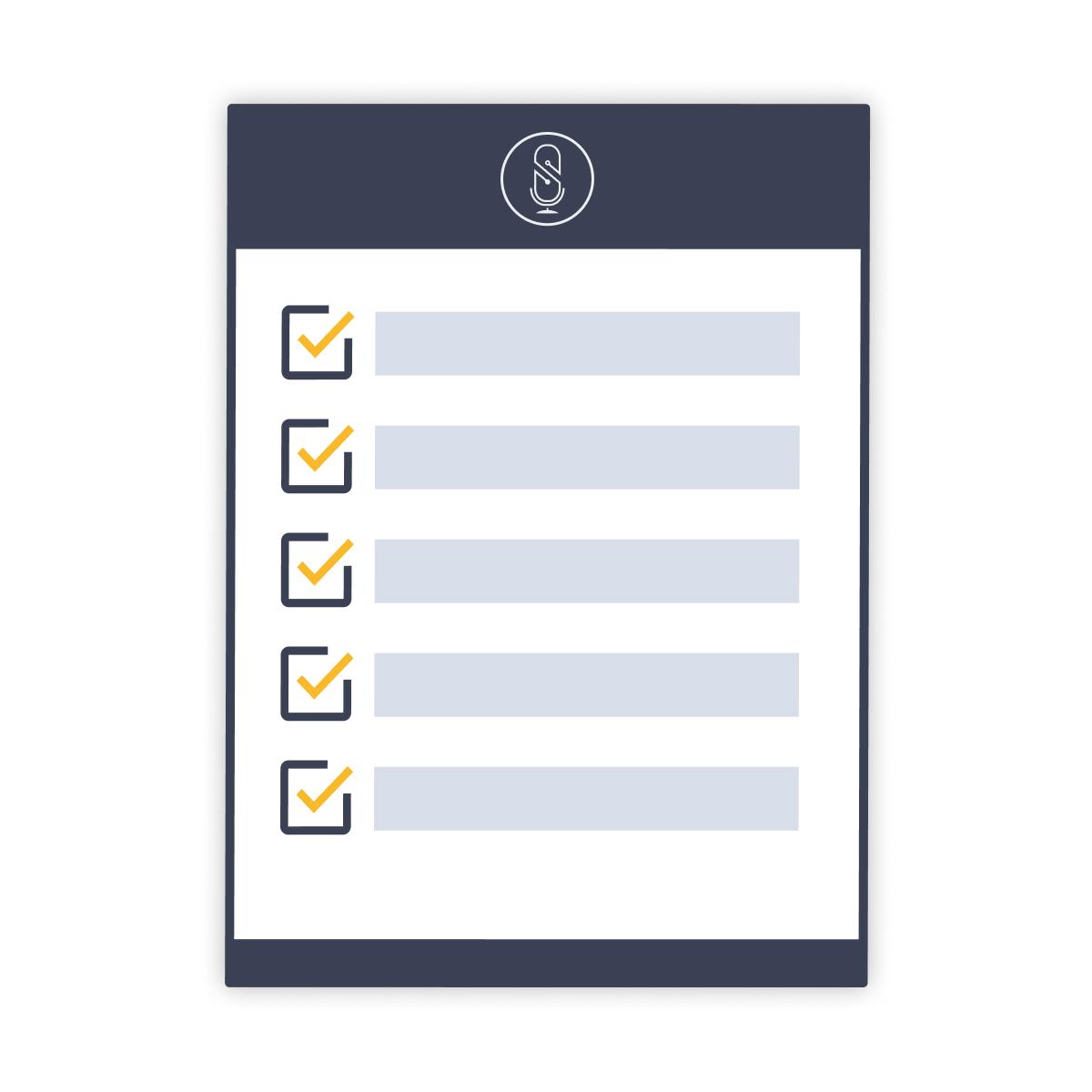 Remote Interview Checklist | SquadCast.fm Podcast Recording Software