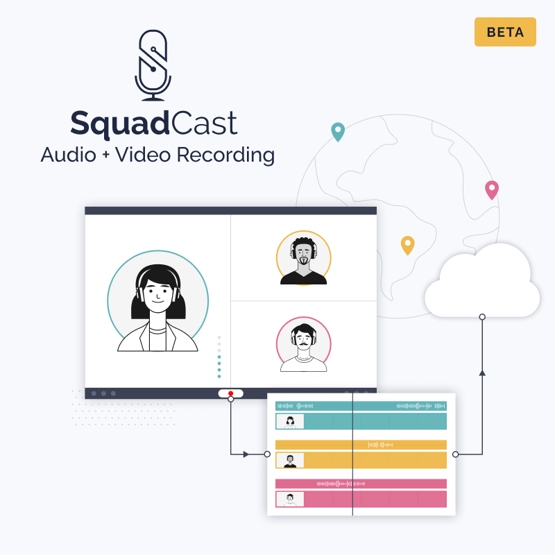 Audio + Video Recording on SquadCast v3