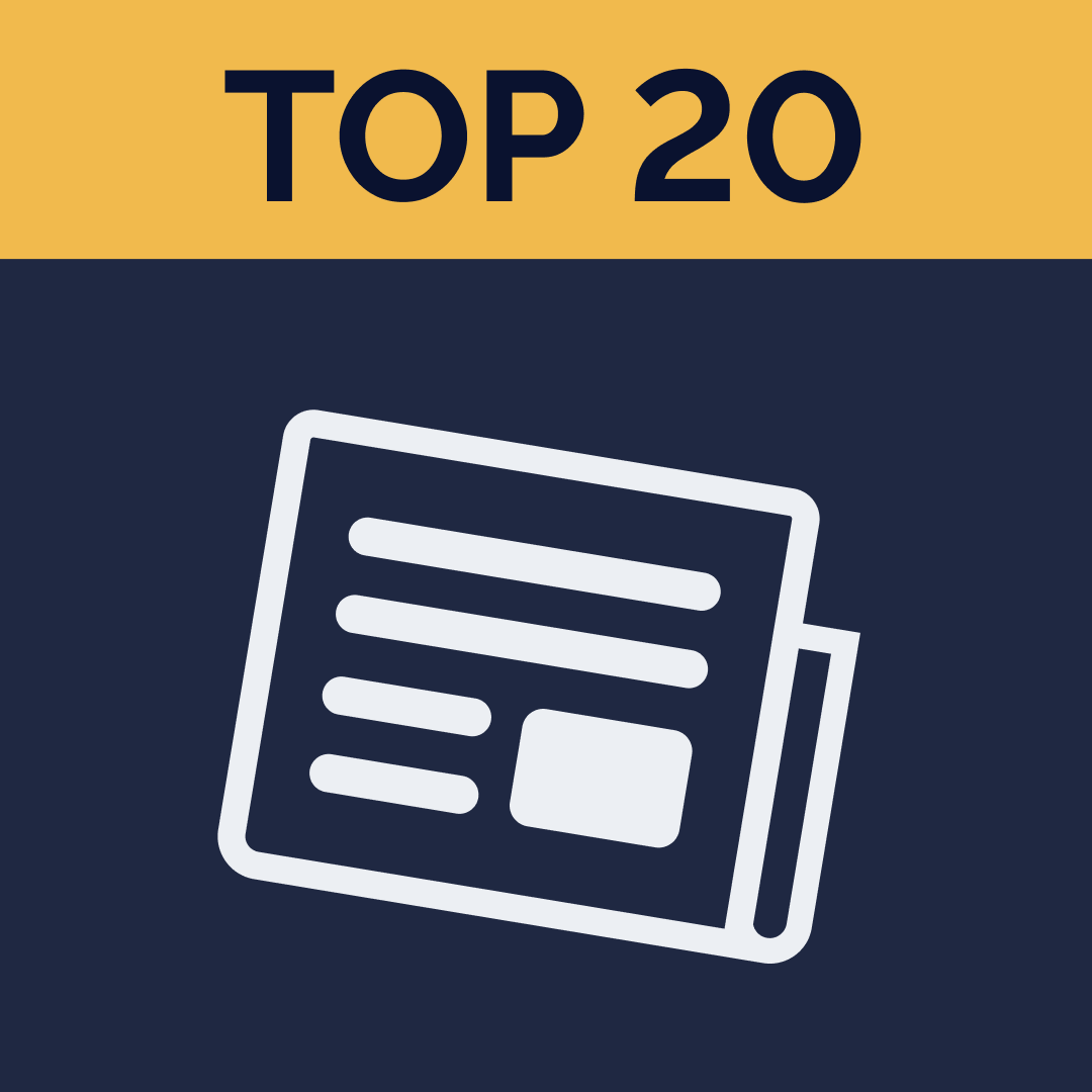 Top 20 Newsletters