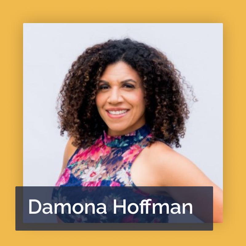 Between Two Mics Guest Damona Hoffman